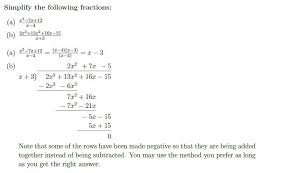 polynomials simplify and manipulate a level maths by studywell