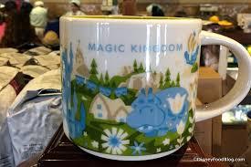 spotted starbucks 2017 disney parks mug and magic kingdom