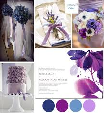 purple and blue wedding lavender and blue wedding color inspiration wedding colors
