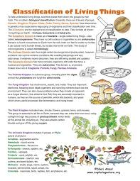 Characteristics Of Living Things Worksheet Middle 261 Best Classifying Living Things Images On