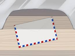 Stamp On Right Or Left The Easiest Way To Send A Letter In The Mail Wikihow