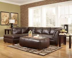 buy durablend mahogany 2pc sectional laf corner chaise and raf
