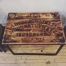 Ouija Coffee Table by Custom Furniture U2014 The Art Of Demolition