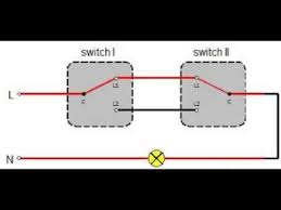 two way switching diagram two way switch youtube