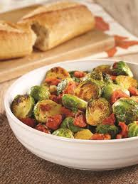 fire roasted tomatoes and brussels sprouts recipe