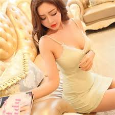 2017 lace night wear nightgown see through lingerie nighty