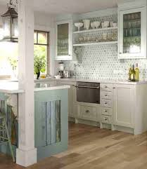 cottage style kitchens with cararra marble backsplash cozy