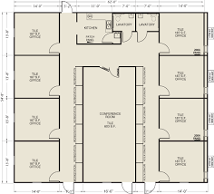 Floor Plan Of Office Building Ellis Modular Buildings Office Facilities Floor Plans