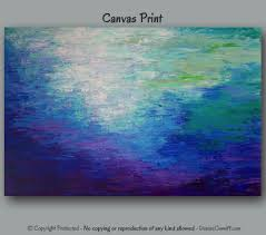 Canvas Prints Home Decor by Large Wall Art Abstract Painting Giclee Canvas Print Home