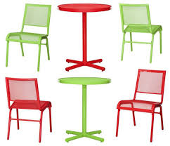 Green Patio Chairs Amazingly Cool Outdoor Furniture Sets