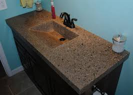 Concrete Kitchen Sink by Concrete Countertop With Integrated Sink And Fiber Optics 9 Steps