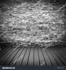 halloween wood background dark brick wall texture basement house stock illustration