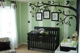 baby nursery decor large tree brown realistic decals cute baby