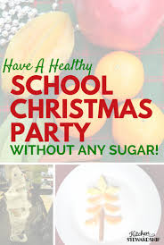 healthy christmas party ideas for kids