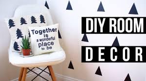 Room Decore by Easy Diy Pinterest Room Decor 2016 Youtube