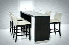 rectangle high top table narrow bar height table modern high top tables large size of dining