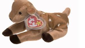 ty beanie baby whisper the deer toy youtube