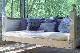 shabby chic day bed porch swing by customrustics1 on etsy swinging