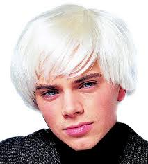 halloween costume wigs andy warhol pop artist movie star platinum wig halloween costume