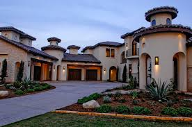 Mediterranean House Styles - tuscan architectural style plan house design and office ideas