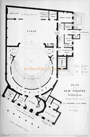 National Theatre Floor Plan by Nottingham Theatres And Halls