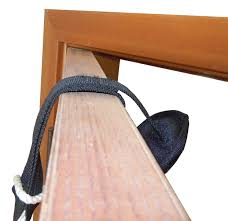 cloth door stopper u0026 bless this home fabric door stopper with handle