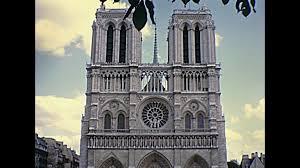 monument at the notre dame cathedral de paris france stock video notre dame de paris national monument cathedral of france french gothic architecture sunny