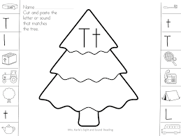 beginning sound christmas worksheets mrs karles sight and sound