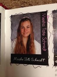 cbell high school yearbook pic miesha tate s high school yearbook photo proves she was an ex