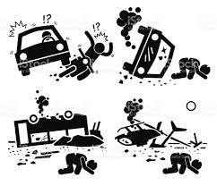 wrecked car clipart wreck clip art vector images u0026 illustrations istock