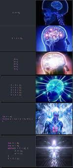 Brain Memes - another expanding brain meme programming coding software