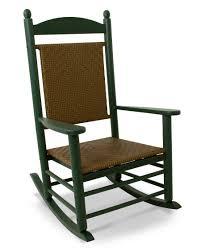 Outdoor Rocker Chair Polywood Jefferson Woven Rocker