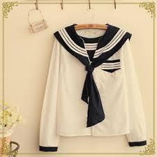 sailor blouse buy fairyland sleeve sailor collar blouse with free