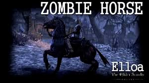 eso zombie horse limited edition youtube