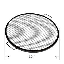 onlyfire heavy duty round x marks fire pit cooking grate grill 30
