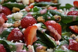 meals in 15 minutes or less lunch 4 strawberry u0026 spinach salad