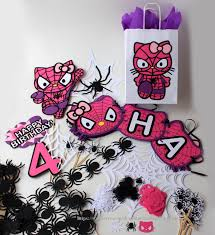 hello party supplies hello spider birthday party decorations kit