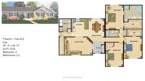 ranch style home floor plan ranch style home floor plan raised