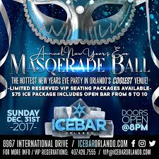 new years party in orlando 2018 new years masquerade icebar orlando experience