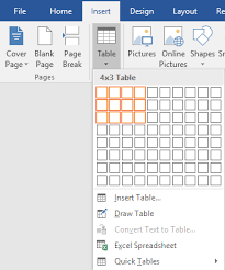 How To Put An Excel Table Into Word How To Create And Use Formulas In Tables In Word