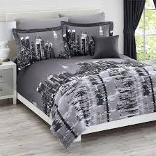 theme comforters total fab new york city skyline bedding nyc themed bedroom ideas