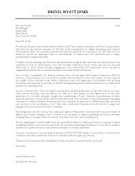 digital executive marketing cover letter format sample marketing
