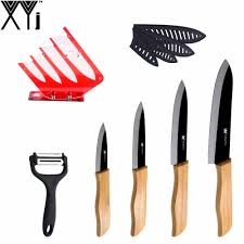 Red Kitchen Knives by Aliexpress Com Buy Xyj Acrylic Red Kitchen Knife Stand Durable