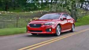 subaru legacy red 2017 2017 subaru impreza sedan and 5 door youtube