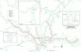 Chicago Terminal Map by Multimodalways Burlington Northern Santa Fe Railway Archives Maps