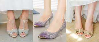 wedding shoes glitter sparkly look glitter wedding shoes designs weddceremony