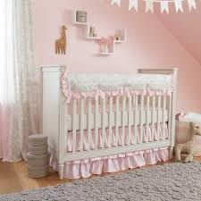Pink And Teal Crib Bedding by Classic Baby Bedding Classic Crib Bedding Carousel Designs
