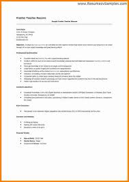 resume format for fresher teacher filetype doc 7 sle of resume for fresher teacher essay checklist
