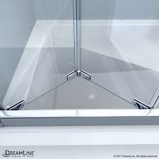 butterfly 30 to 35 1 2 bi fold shower door dreamline