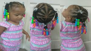 natural hair styles for 1 year olds cute hairstyle for 1 year old toddler natural hair braids and beads